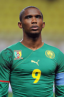 Fussball International, Italienische Nationalmannschaft  Italien - Kamerun 03.03.2010 Samuel Eto'o (Kamerun)