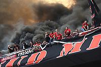 tifosi Milan supporters<br /> Milano 15-04-2017, Stadio Giuseppe Meazza, Football Calcio 2016/2017 Serie A, Inter - Milan, Foto Image Sport/Insidefoto