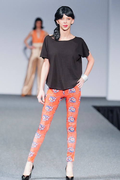 Designers Michelle Beatty & Sara Dunn showed her collection for the Top Design Competition and is one of the finalist at New Orleans Fashion Week, Louisiana