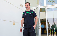 12/05/16   <br />   LENNOXTOWN <br />   Celtic manager Ronny Deila leaves the club