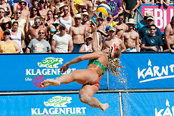 Larissa Franca of Brazil at A1 Beach Volleyball Grand Slam tournament of Swatch FIVB World Tour 2010, final, on July 31, 2010 in Klagenfurt, Austria. (Photo by Matic Klansek Velej / Sportida)