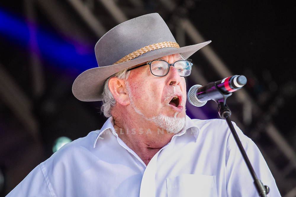 Rolf Harris performs live on stage at Camp Bestival, Lulworth, UK on 29th July 2012. Photo by Melissa North.  Ref B2779