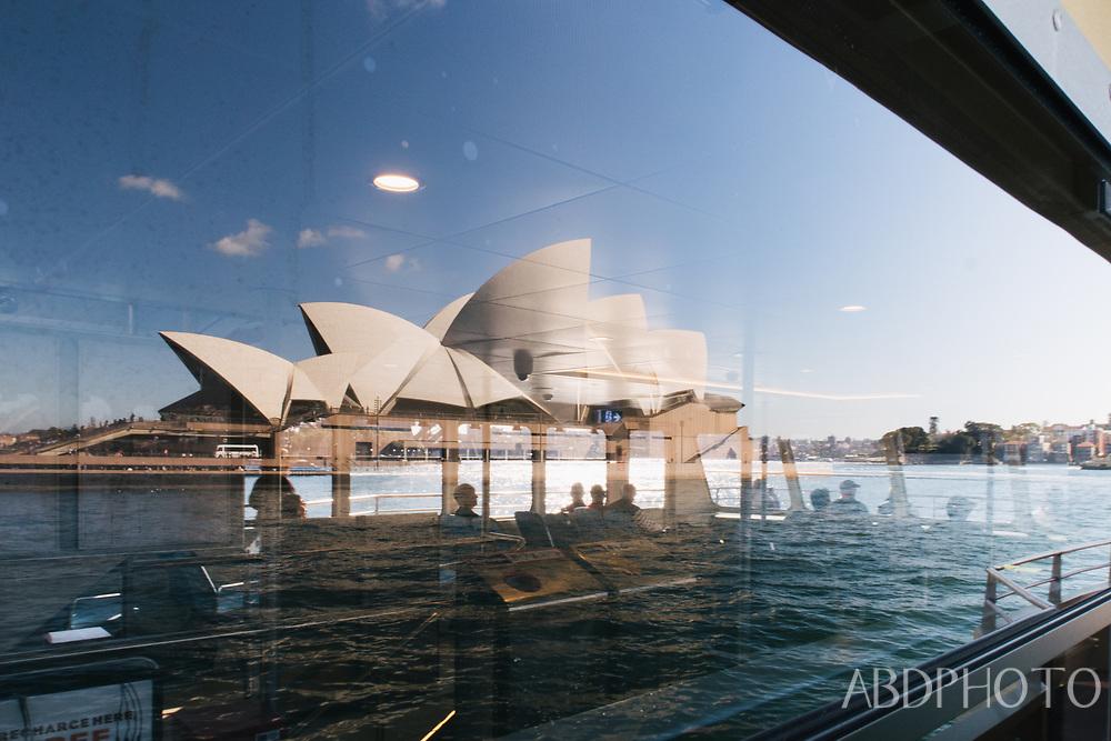 Sydney New South Wales Australia Opera House Harbour Bridge