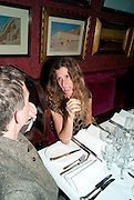 ELIANE FATTAL, Dinner hosted by Elizabeth Saltzman for Mario Testino and Kate Moss. Mark's Club. London. 5 June 2010. -DO NOT ARCHIVE-© Copyright Photograph by Dafydd Jones. 248 Clapham Rd. London SW9 0PZ. Tel 0207 820 0771. www.dafjones.com.