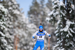 March 9, 2019 - –Stersund, Sweden - 190309 Apostolos Angelis of Greece competes in the Men's 10 KM sprint during the IBU World Championships Biathlon on March 9, 2019 in Östersund..Photo: Petter Arvidson / BILDBYRÃ…N / kod PA / 92252 (Credit Image: © Petter Arvidson/Bildbyran via ZUMA Press)