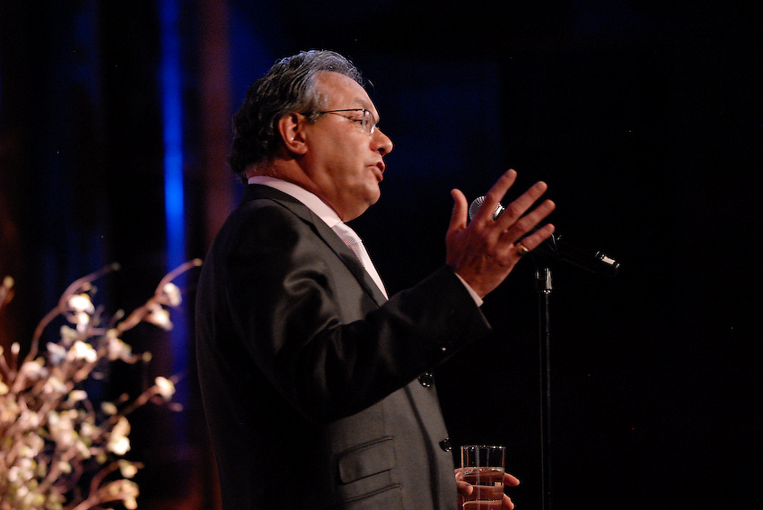Lewis Black at fundraising gala