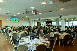 The Chiefs Suite with SW Comms 25th branding prior to kick off  - Mandatory by-line: Ryan Hiscott/JMP - 19/10/2019 - RUGBY - Sandy Park - Exeter, England - Exeter Chiefs v Harlequins - Gallagher Premiership Rugby