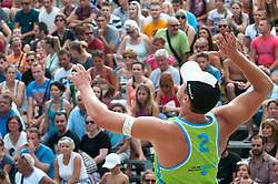 Michael Murauer at Beach Volleyball Challenge Ljubljana 2014, on August 2, 2014 in Kongresni trg, Ljubljana, Slovenia. Photo by Matic Klansek Velej / Sportida.com