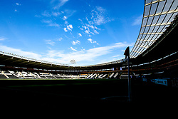 A general view of The KCOM Stadium, home of Hull City - Mandatory by-line: Robbie Stephenson/JMP - 06/08/2018 - FOOTBALL - KCOM Stadium - Hull, England - Hull City v Aston Villa - Sky Bet Championship