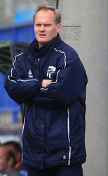 Head coach of Nafta Damir Rob at 12th Round of PrvaLiga Telekom Slovenije between NK Primorje vs NK Nafta Lendava, on October 5, 2008, in Town stadium in Ajdovscina. Nafta won the match 2:1. (Photo by Vid Ponikvar / Sportal Images)