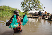 A Nile River fishing camp in Terekeka, South Sudan.