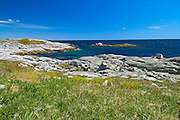 Rocky shoreline along the Atlantic Coast<br /> Rose Blanche<br /> Newfoundland <br /> Canada