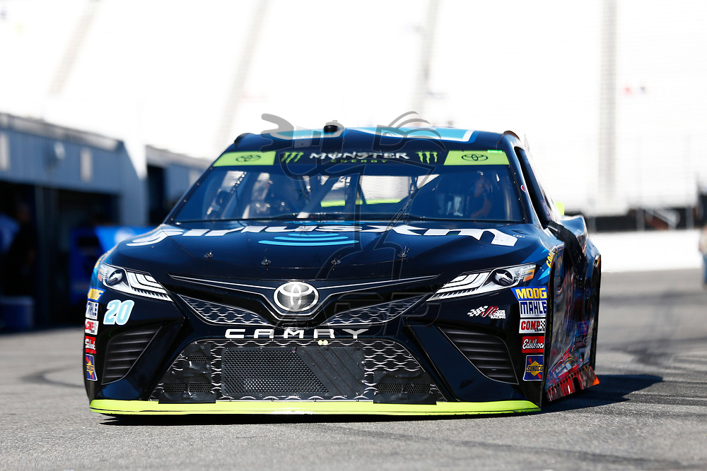 September 23, 2017 - Loudon, New Hampshire, USA: Matt Kenseth (20) takes to the track to practice for the ISM Connect 300 at New Hampshire Motor Speedway in Loudon, New Hampshire.