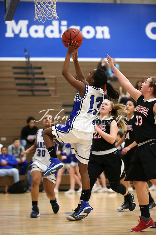 February 01, 2016.  <br /> MCHS JV Girls Basketball vs Stonewall Jackson.