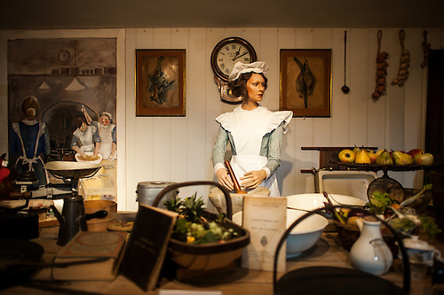An Exhibit Showing A Period Kitchen Setup At Sudeley Castle. Sudeley Castle  Dates Back To.