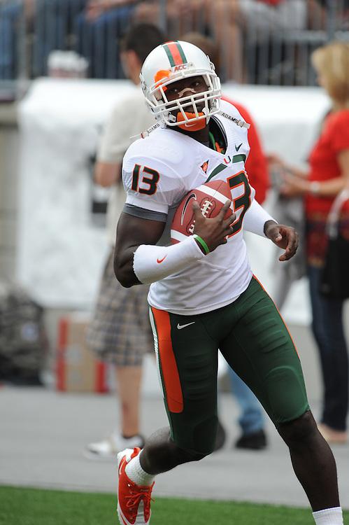 2010 Miami Hurricanes Football @ Ohio State