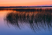 Sunset at Lake Audy<br />Riding Mountain National Park<br />Manitoba<br />Canada