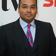 London Hilton, Park lane, England, UK. 1st December 2017. Krishnan Guru-Murthy attends the Sky Women in Film and TV Awards.