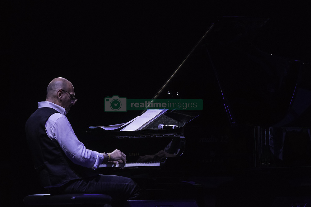July 21, 2019 - Rome, Italy, Italy - The Trio composed by Peter Erskine on the drums, Eddie Gomez on the double bass and Dado Moroni on the piano, performed on 21/7/2019 on the stage of the Casa del Jazz in Rome during the Summertime 2019 festival (Credit Image: © Leo Claudio De Petris/Pacific Press via ZUMA Wire)