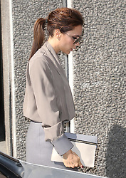 Victoria Beckham arriving at the Southbank in London to give a talk about her life as part of the Vogue Festival, Sunday, 28th April  2013  Photo by: Stephen Lock / i-Images