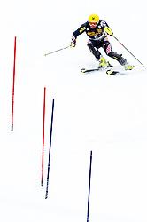 Winner KOSTELIC Ivica  of Croatia during the 2nd Run of Men's Slalom - Pokal Vitranc 2013 of FIS Alpine Ski World Cup 2012/2013, on March 10, 2013 in Vitranc, Kranjska Gora, Slovenia.  (Photo By Matic Klansek Velej / Sportida.com)