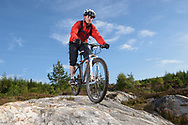 Cycling Slab Happy, bike trail, Balblair, Sutherland, Forestry Commission Scotland