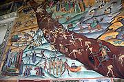 Religious Art. Horezu Monastery, UNESCO World Heritage Site, Romania