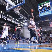 NBA D-LEAGUE BASKETBALL 2015 - MAR 27 - Erie BayHawk defeats Delaware 87ers 136-132 in OT
