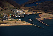 4/25/14 :: FILE :: Aerial file photos ferry landing Plum Island, Southold, NY Friday, April 25, 2014.  (Sean D. Elliot/The Day)