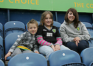 Stockport - Saturday October 31st 2009: Norwich City fans prior to the game against Stockport County during the Coca Cola League One match at Edgeley Park, Stockport. (Pic by Michael SedgwickFocus Images)