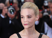 Carey Mulligan attends the 'Inside Llewyn Davis' Red Carpet during the 66th Annual Cannes Film Festival at the Palais des Festivals on May 19, 2013 in Cannes, France.