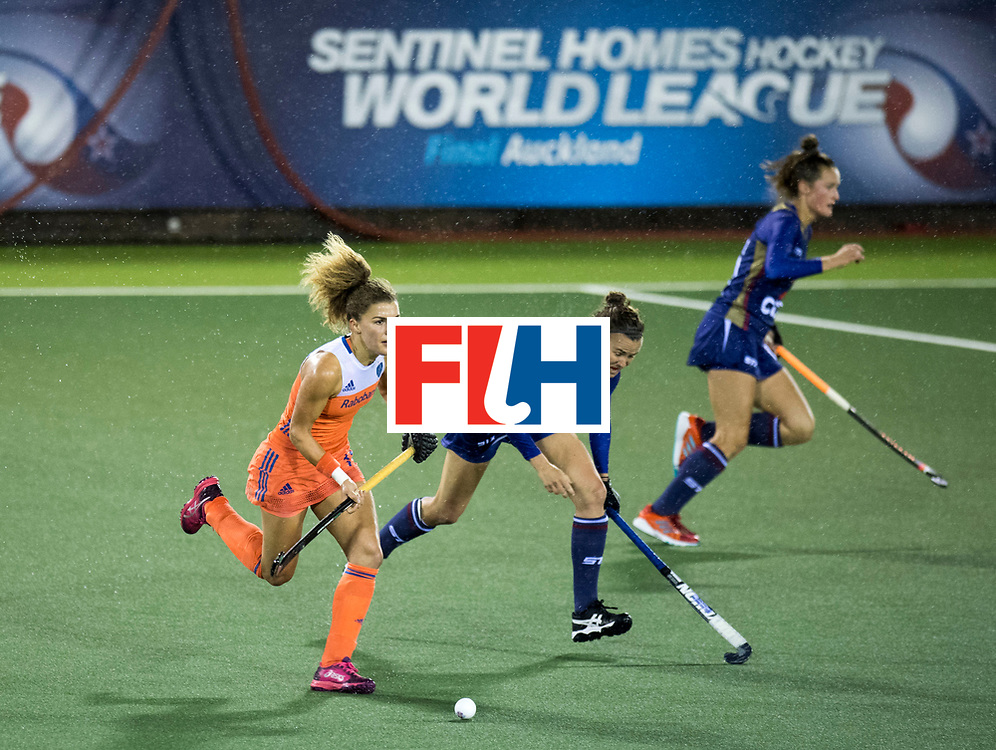 AUCKLAND - Sentinel Hockey World League final women<br /> Match id 10296<br /> 06 Usa v Netherlands<br /> Foto: Maria Verschoor.<br /> WORLDSPORTPICS COPYRIGHT FRANK UIJLENBROEK