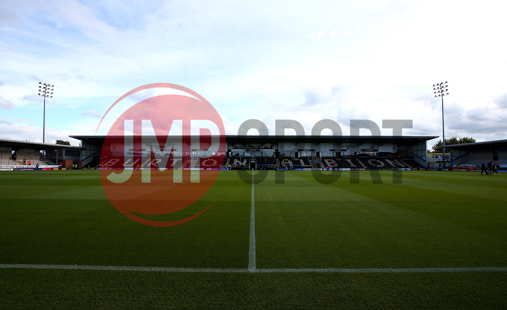 A general view of The Pirelli Stadium, home of Burton Albion - Mandatory by-line: Robbie Stephenson/JMP - 18/08/2017 - FOOTBALL - Pirelli Stadium - Burton upon Trent, England - Burton Albion v Birmingham City - Sky Bet Championship