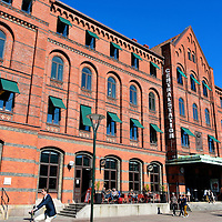 Central Station West Fa&ccedil;ade in Malm&ouml;, Sweden<br /> The Malm&ouml; Central Station&rsquo;s west fa&ccedil;ade was designed by AW Edelsv&auml;rd and opened in 1872 after the original railway station was burned in 1866. It is a testament to the 19th century train transportation for Malm&ouml;. Not shown is the 2011 extension called the Glass Hall. This modernistic, giant and transparent ramp was built to accommodate the City Tunnel that opened in 2010. It is an underground link connecting Malm&ouml; and Copenhagen, Denmark.