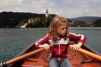 manui at lake bled, slovenia