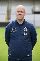 Club's Michel Dierings poses for the photographer during the 2015-2016 season photo shoot of Belgian first league soccer team Club Brugge, Friday 17 July 2015 in Brugge