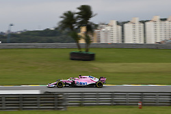 November 9, 2018 - Sao Paulo, Brazil - 11 PEREZ Sergio (mex), Racing Point Force India F1 VJM11, action during the 2018 Formula One World Championship, Brazil Grand Prix from November 08 to 11 in Sao Paulo, Brazil -  FIA Formula One World Championship 2018, Grand Prix of Brazil World Championship;2018;Grand Prix;Brazil  (Credit Image: © Hoch Zwei via ZUMA Wire)