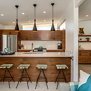 RESIDENTIAL: INTERIOR DESIGN: MID CENTURY MODERN HUGH KAPTUR, AIA VACATION HOME IN PALM SPRINGS