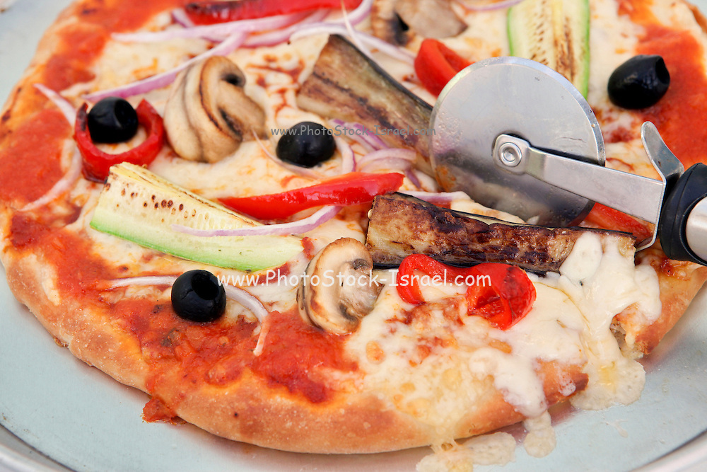 Individual portion pizza
