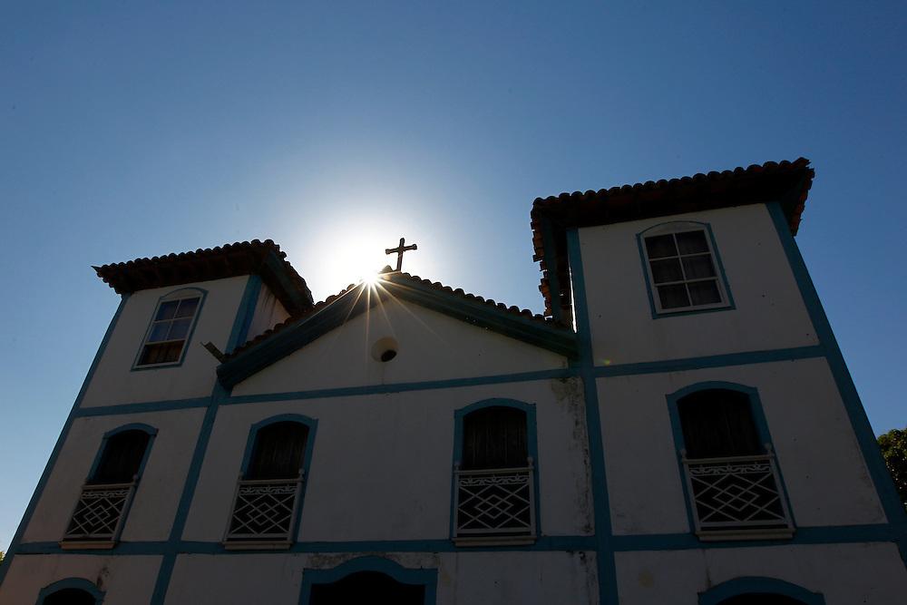 Pirenopolis_GO, Brasil.<br /> <br /> Igreja Nosso Senhor do Bonfim na cidade historica de Pirenopolis, Goias.<br /> <br /> Nosso Senhor do Bonfim Church in Pirenopolis, Goias.<br /> <br /> Foto: MARCUS DESIMONI / NITRO