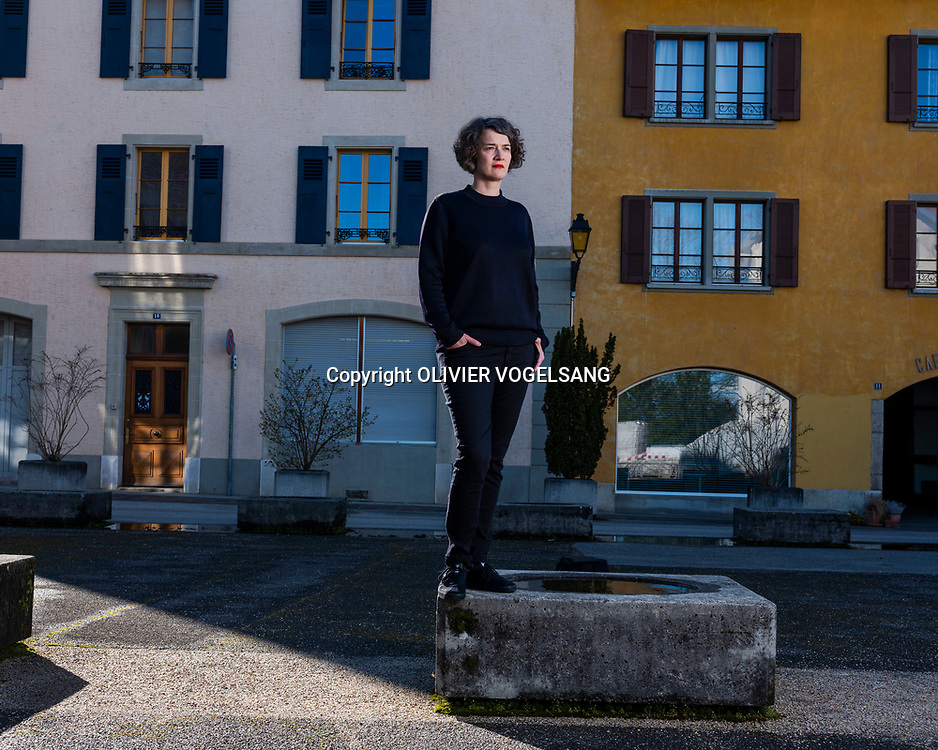 Nyon, avril 2018. Emilie Bujès, directrice Visions du réel. © Olivier Vogelsang