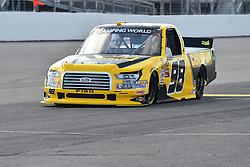 June 22, 2018 - Madison, Illinois, U.S. - MADISON, IL - JUNE 22:  Gtrant Enfinger (98) driving a Ford warms up before  the Camping World Truck Series - Eaton 200 on June 22, 2018, at Gateway Motorsports Park, Madison, IL.   (Photo by Keith Gillett/Icon Sportswire) (Credit Image: © Keith Gillett/Icon SMI via ZUMA Press)