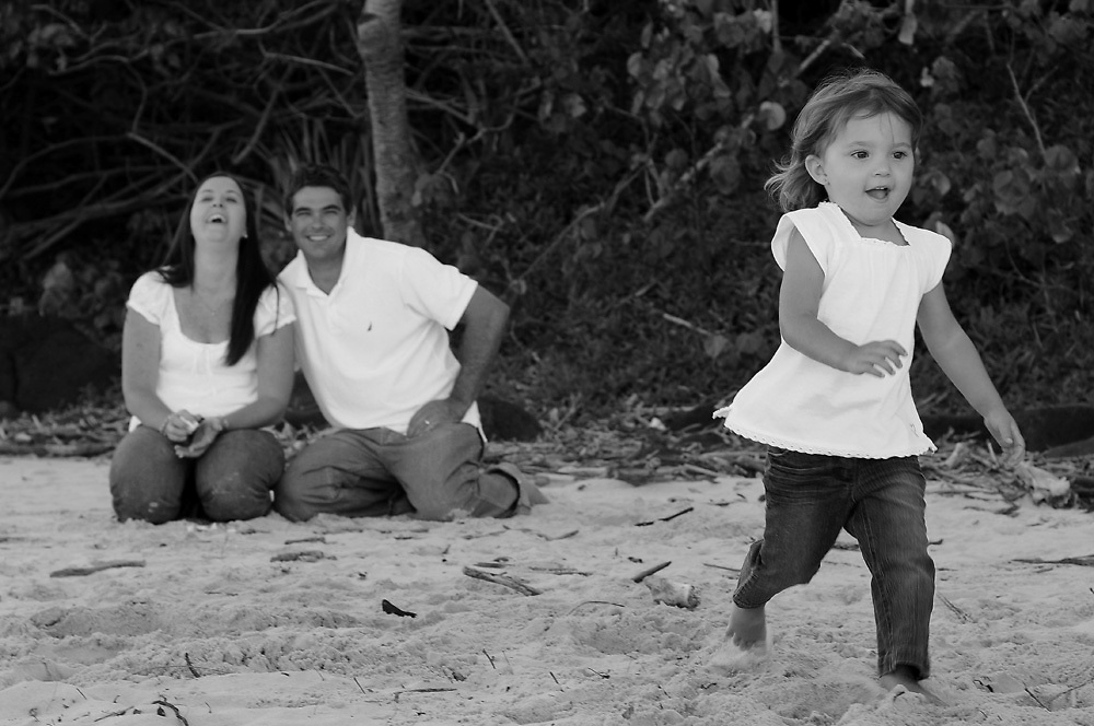 Gordon family portrait shoot at Burleigh Heads, Gold Coast. Photo by Matt Roberts
