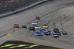 April 29, 2018 - Talladega, Alabama, United States of America - The Monster Energy NASCAR Cup Series teams race down pit road during the GEICO 500 at Talladega Superspeedway in Talladega, Alabama. (Credit Image: © Chris Owens Asp Inc/ASP via ZUMA Wire)