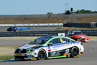 #43 Ollie Pidgley Trade Price Cars with Team HARD Racing Volkswagen CC during BTCC Practice  as part of the Dunlop MSA British Touring Car Championship - Rockingham 2018 at Rockingham, Corby, Northamptonshire, United Kingdom. August 11 2018. World Copyright Peter Taylor/PSP. Copy of publication required for printed pictures.
