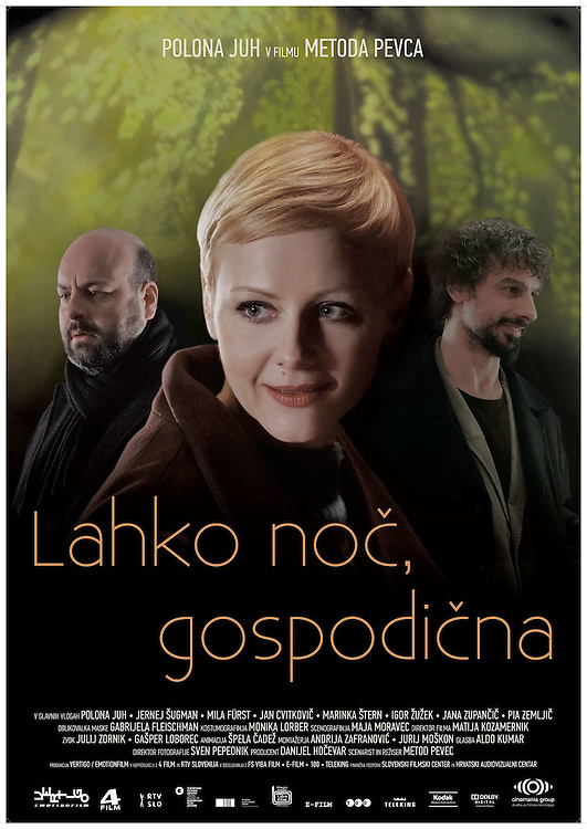 Poster for feature film Good night missy - Lahko noč gospodična directed by Metod Pevec. Still photographer: Željko Stevanić/IFP