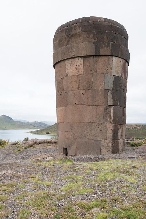 South America, Peru,Sillustani,
