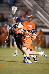Virginia Cavaliers A Garrett Billings (19)<br /> <br /> The Virginia Cavaliers Men's Lacrosse Team defeated Mount St. Mary's 23-6 at Kl?ckner Stadium in Charlottesville, VA on March 13, 2007.