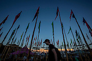 UNITED KINGDOM, Glastonbury: 22 June 2016 A general view of Glastonbury Festival this evening . Rick Findler / Story Picture Agency