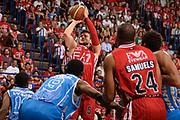 DESCRIZIONE :  Lega A 2014-15  EA7 Milano -Banco di Sardegna Sassari playoff Semifinale gara 5<br /> GIOCATORE : Gentile Alessandro<br /> CATEGORIA : Low Tiro Tre Punti <br /> SQUADRA : EA7 Milano<br /> EVENTO : PlayOff Semifinale gara 5<br /> GARA : EA7 Milano - Banco di Sardegna Sassari PlayOff Semifinale Gara 5<br /> DATA : 06/06/2015 <br /> SPORT : Pallacanestro <br /> AUTORE : Agenzia Ciamillo-Castoria/Richard Morgano<br /> Galleria : Lega Basket A 2014-2015 Fotonotizia : Milano Lega A 2014-15  EA7 Milano - Banco di Sardegna Sassari playoff Semifinale  gara 5<br /> Predefinita :